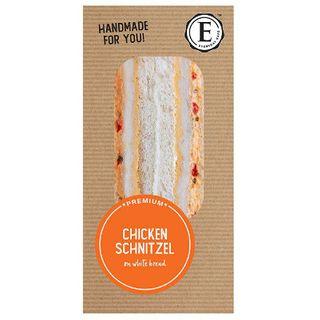 Sandwich Chicken Schnitzel Sweet Chilli Mayo 12 X 235G