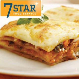 Vegetable Lasagne 2.6Kg 7 Star