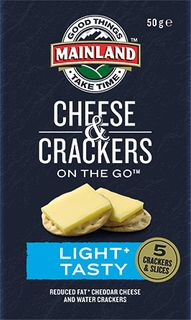 Cheese & Crackers P/C Light & Tasty On The Go 7 X 50G
