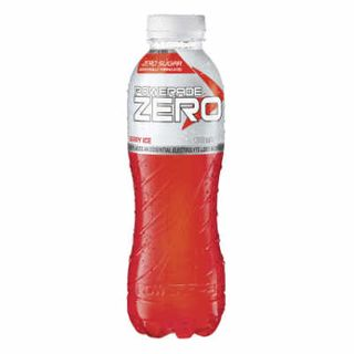 Powerade Zero Berry Ice Red 600Ml X 12