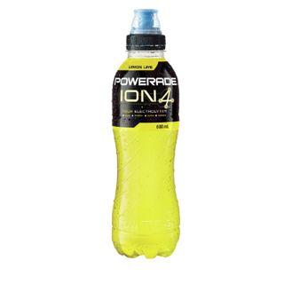 Powerade Ion4 Lemon Lime 600Mlx12