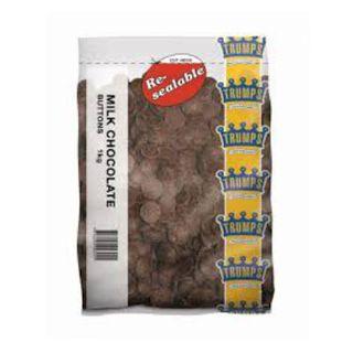 CHOCOLATE BUTTONS MILK 1KG