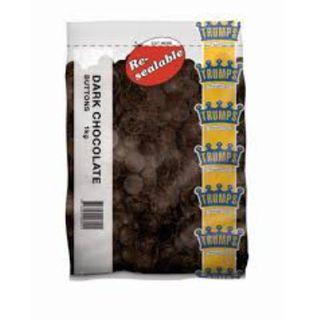 CHOCOLATE BUTTONS DARK 1KG