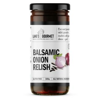 BALSAMIC ONION RELISH X 320GM LANGS GOURMET