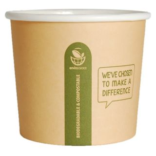 SOUP CONTAINER HEAVY CARDBOARD 16OZ 25/SLEEVE