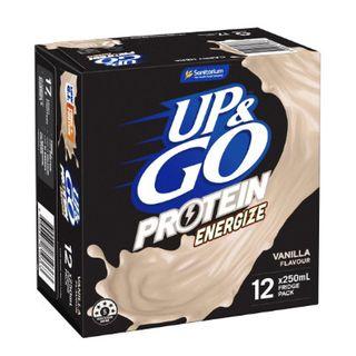 @ Up & Go Energize Vanilla 12X250Ml