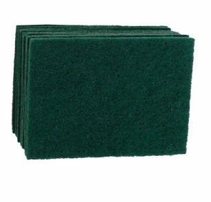 GREEN SCOURER PAD LARGE (23X15CM) 10PK