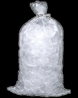 JUMBO PARTY ICE BAGS 5KG BELLS