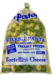 CHEESE TORTELINI FROZEN 1KG  IL PASTAIO