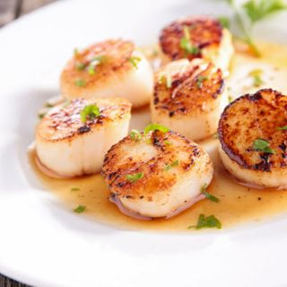 LARGE ROE OFF SCALLOPS 10/20 1KG