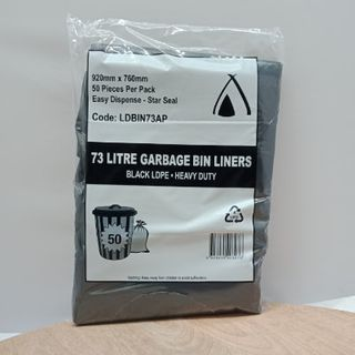 GARBAGES BAG 73LT LARGE X 50 TAILORED