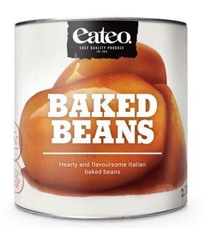BAKED BEANS 2.75KG EATEO
