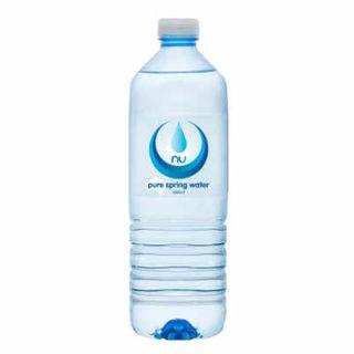 NU PURE WATER STANDARD CAP 600ML X 12
