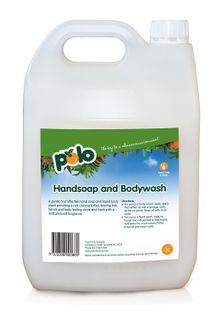 HAND SOAP & BODYWASH 5LT POLO CITRUS