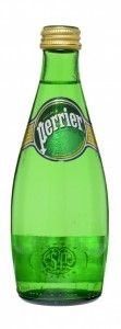 PERRIER SPARKLING MINERAL WATER 330MLX24 GLASS
