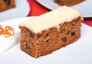 CARROT CAKE SLICE tray of 15 - Priestleys Gourmet Delights