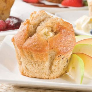 APPLE & CINNAMON MUFFINS tray of 6 - Priestleys Gourmet Delights