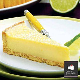 BAKED LEMON LIME TART 16 slice - Priestleys Gourmet Delights