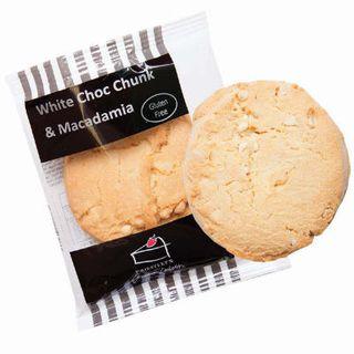 COOKIES P/C WHITE CHOC CHUCK & MACADAMIA G/F 10 X 56G