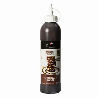 CHOCOLATE FUDGE DESSERT SAUCE Topping 500ml - Priestleys