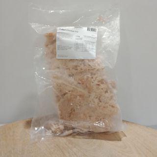 FROZEN CHICKEN G/F PULLED MEAT 1KG HANS