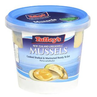 NATURAL MARINATED MUSSELS 375GM TALLEYS