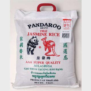 JASMINE RICE 5KG PANDAROO