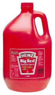 HEINZ TOMATO SAUCE BIG RED G/F 4LT
