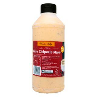 Sauce Fiery Chipotle Mayo 1Lt Wombat