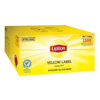 TEA LIPTON YELLOW ENVELOPE T/BAGS (100S)