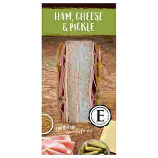 EVERYDAY CAFE HAM CHEESE & PICKLE 167GM X 12