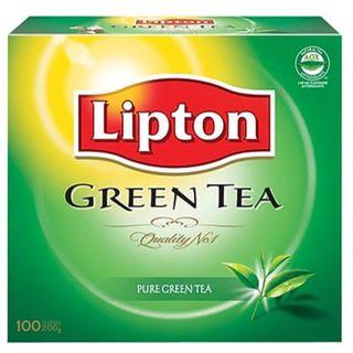 ENVELOPE TEA BAGS GREEN TEA 100S STL LIPTON