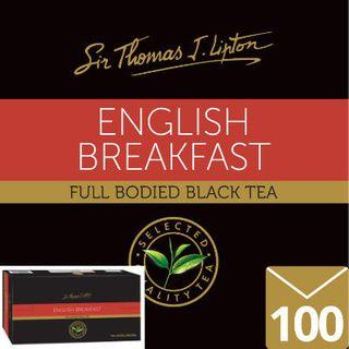 ENVELOPE TEA BAGS ENGLISH BREAKFAST 100 STL