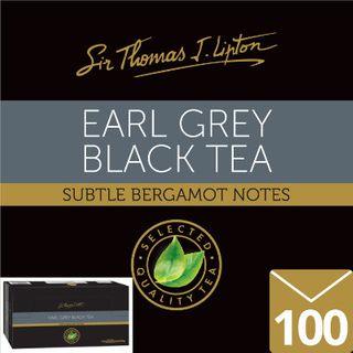 ENVELOPE TEA BAGS EARL GREY 100S STL LIPTON