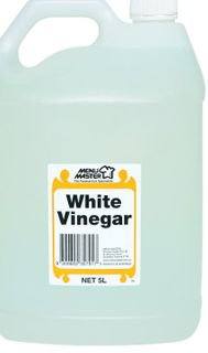 WHITE VINEGAR  5LTR MENU MASTER