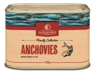 ANCHOVIE FILLETS 720G SANDHURST