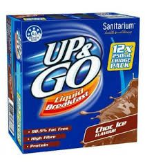 UP & GO CHOCOLATE MILK 12X250ML