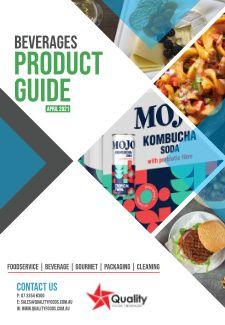 Quality Foods Beverage Product List - April 2021