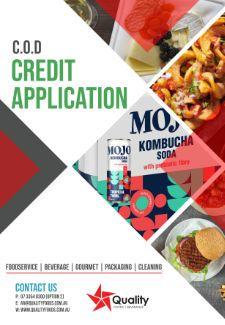 QFB Credit Application_COD