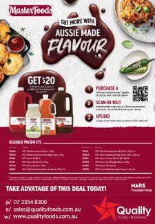 Masterfoods Aussie Made Flavour Promo