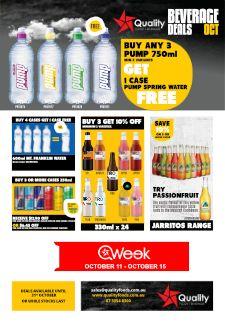 QFB October Beverage Deals