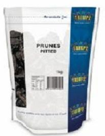 PRUNES PITTED 1KG EA TRUMPS