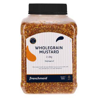Mustard Wholegrain 2.1 Kg