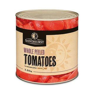 Whole Peeled Tomatoes 2.5Kg Sandhurst