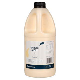Sauce Garlic Aioli 2Lt French Maid