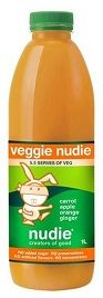 NUDIE CARROT APPLE ORNG GINGER 1LT X 6