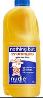 Juice Orange 21 Pulp Free 2Lt