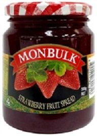 Jam Strawberry 500G Monbulk