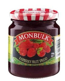 Jam Raspberry 500G Monbulk
