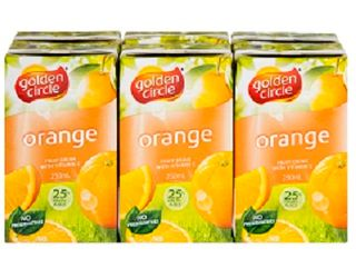 Juice Orange 100% Popper 24 X 250Ml